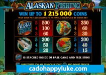 Alaskan Fishing ở nhà cái happyluke slot game