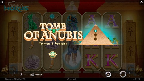 chơi Treasure of Horus ở nhà cái happyluke slot game